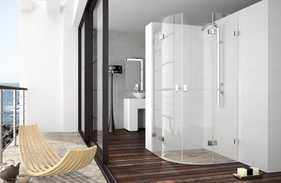 Kassandra mamparas por series xenia - Mamparas abatibles para ducha ...